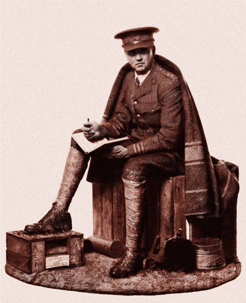Canadian Poet & Soldier -WWI
